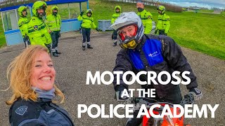 I can't believe they MOTOCROSS at the POLICE ACADEMY!! [S4 - Eps. 9]