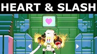 Heart & Slash - PC Gameplay 1080p HD (No Commentary) (Steam Indie Action Rogue Like Game)
