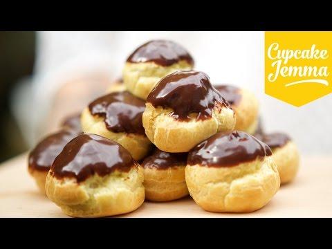 Get How to Make Nutella Profiteroles | Cupcake Jemma Images