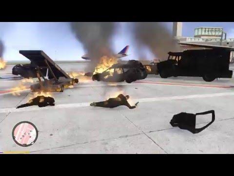GTA 4 - War In Airport