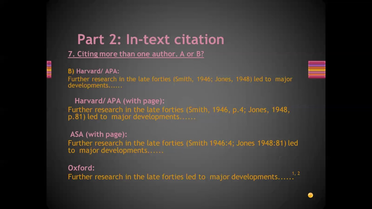 citation and referencing This resource, revised according to the 6 th edition, second printing of the apa manual, offers examples for the general format of apa research papers, in-text citations, endnotes/footnotes, and the reference page.