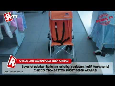 (RTV) - Bebekreyonu Tv - Chicco CT06 Baston Puset Bebek Arabası