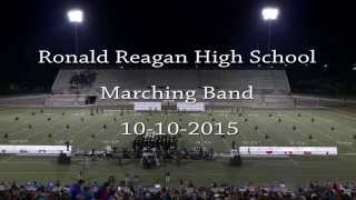 TMC Ronald Reagan HS Marching Band 10-10-2015
