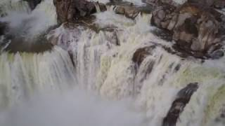 The DJI Mavic Pro with ND filters and a powerful Waterfall = Awesome Arial Drone Footage!
