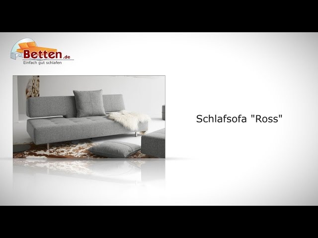 verstellbares schlafsofa mit sitztiefe ber 70 cm ross. Black Bedroom Furniture Sets. Home Design Ideas