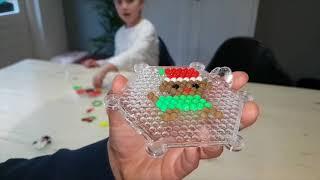 DIY kersthangers van waterkralen voor DongenIce