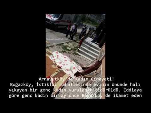 Arnavutköy'de Kadın Cinayeti Halı Yıkarken Öldürüldü ..!! Abone ol