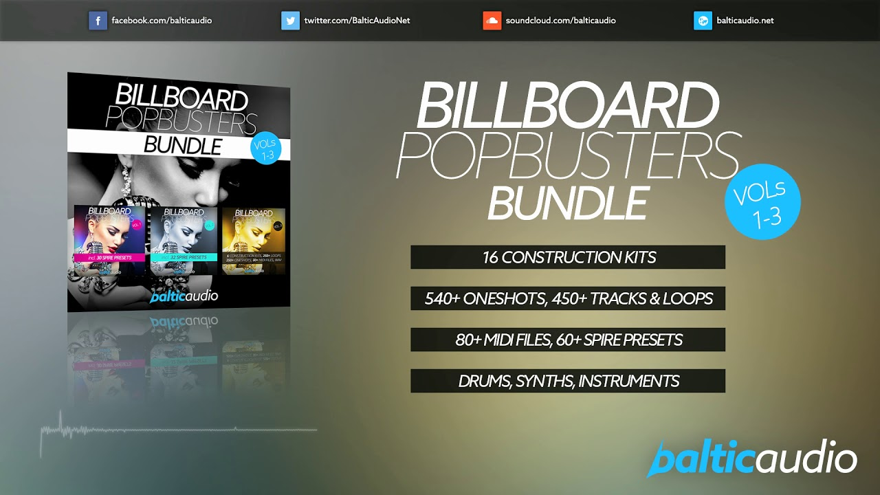 Billboard Pop Busters Bundle (Vols 1-3)