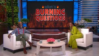 Taye Diggs Gets Candid in 'Burning Questions'