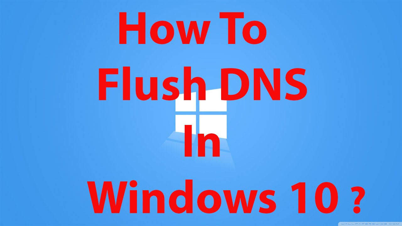 How To Flush DNS in Windows 24 ?