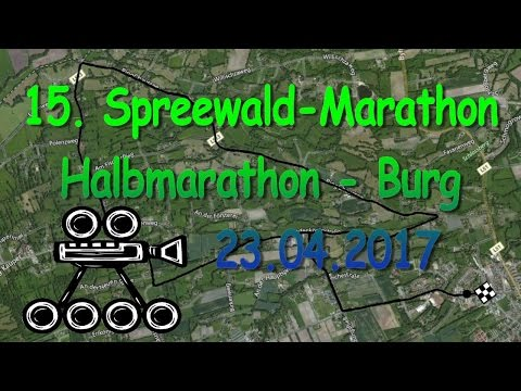 Spreewald-Marathon 2017 - 22,8km Inline-Skating