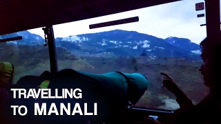 Travelling to MANALI