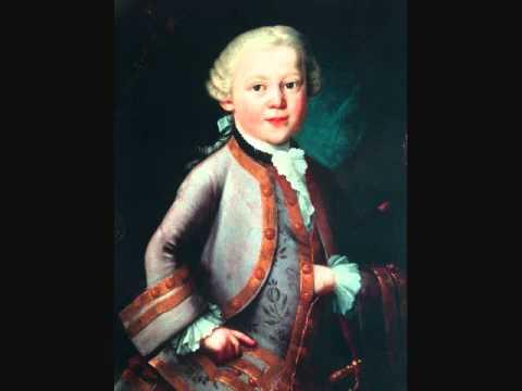 """W. A. MOZART """"Symphony No. 44  D Major"""" (1770)"""