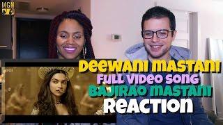 deewani mastani full video song bajirao mastani reaction