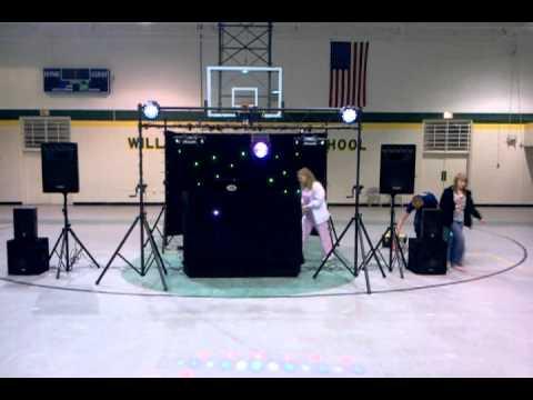 New LED Lights Williamston Middle School