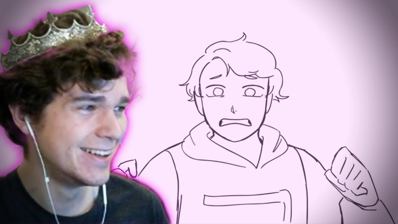 """Eret Reacts to """"Dre SMP"""" Animatic by SADist!"""