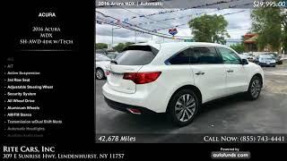 Used 2016 Acura MDX | Rite Cars, Inc, Lindenhurst, NY