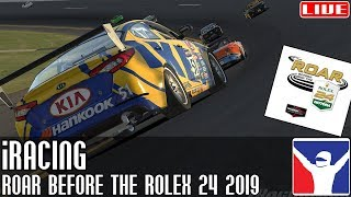 iRacing || 'Roar Before The Rolex 24' 2019 || LIVE