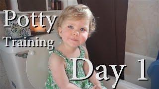 Potty Training Day 1
