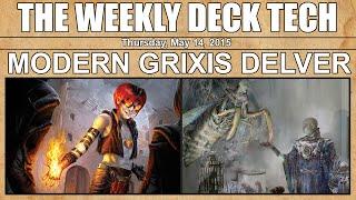 MTG Weekly Deck Tech: Modern Grixis Delver