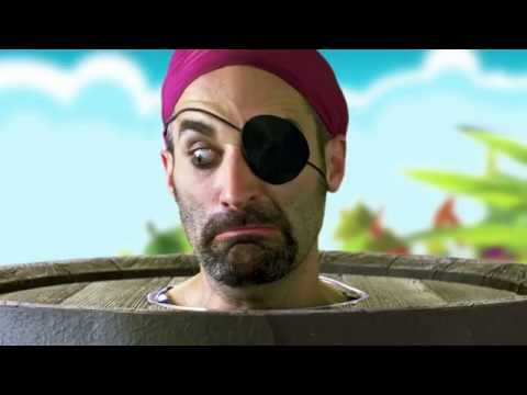 TOMY Pop-Up Pirate Commercial 2016