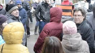 Митинг НОД против Навального