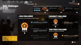 Ghost Recon Wildlands Daily Challenges Week 30 Day 3 Solo Challenge 1 Use LMG Destroy SB Sports Car