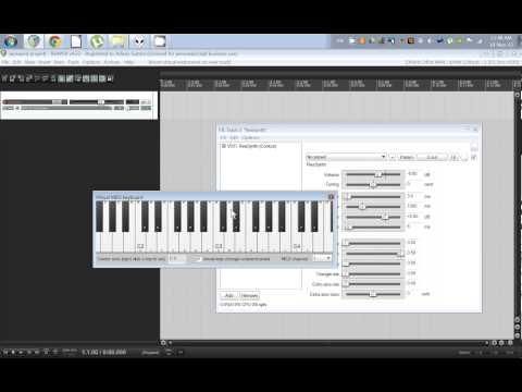 REAPER - How to use Virtual MIDI keyboard