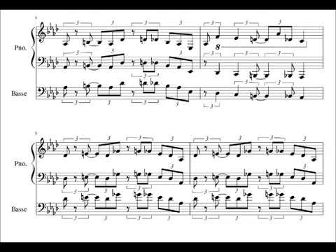 Chicago ( Oscar Peterson + piano and bass sheet music )