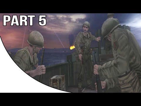Call Of Duty 2 Big Red One - Gameplay Walkthrough Part 5 - Operation Husky