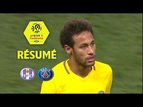 Toulouse FC - Paris Saint-Germain (0-1)  - Résumé - (TFC - PARIS) / 2017-18