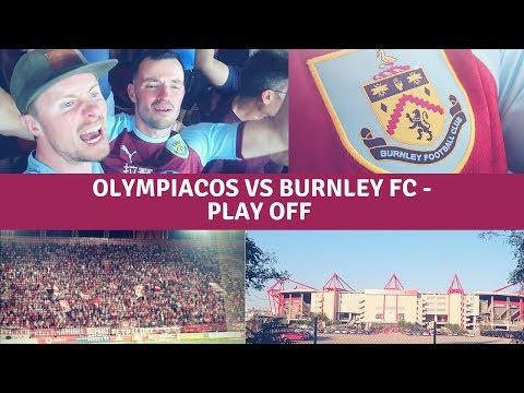 OLYMPIACOS FC VS BURNLEY FC - PLAY OFF - EUROPA LEAGUE 23/08/2018