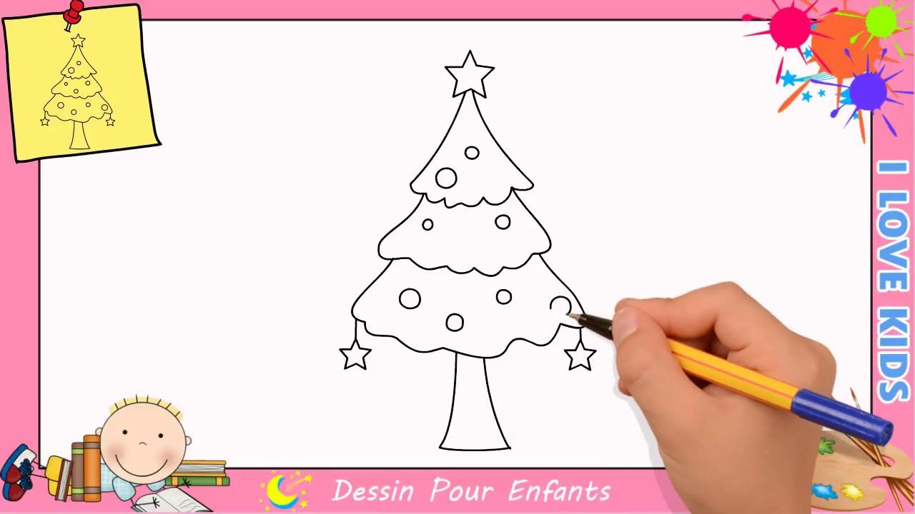 Comment dessiner un sapin de no l facilement mettre jour pour enfants 1 youtube - Dessiner un sapin de noel ...