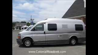 2013 Roadtrek 210-Popular Lounge-Armoire Chevrolet Express Van Conversion for sale