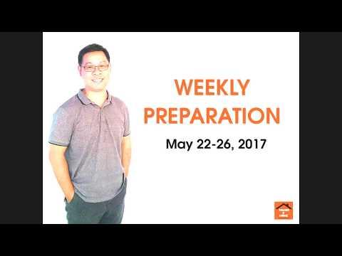 Forex สอน เทรด : 063 - Trading Plan May 22-26, 2017