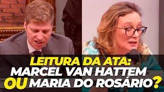 LEITURA DA ATA: Marcel van Hattem ou Maria do Rosário???