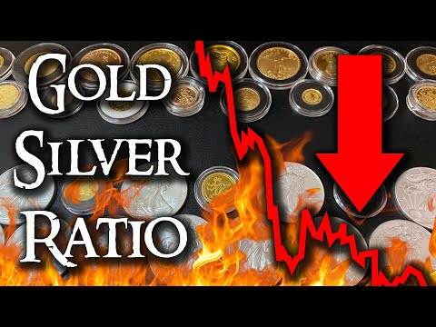 Gold Silver Ratio is Dropping FAST! (DO THIS NOW!!)