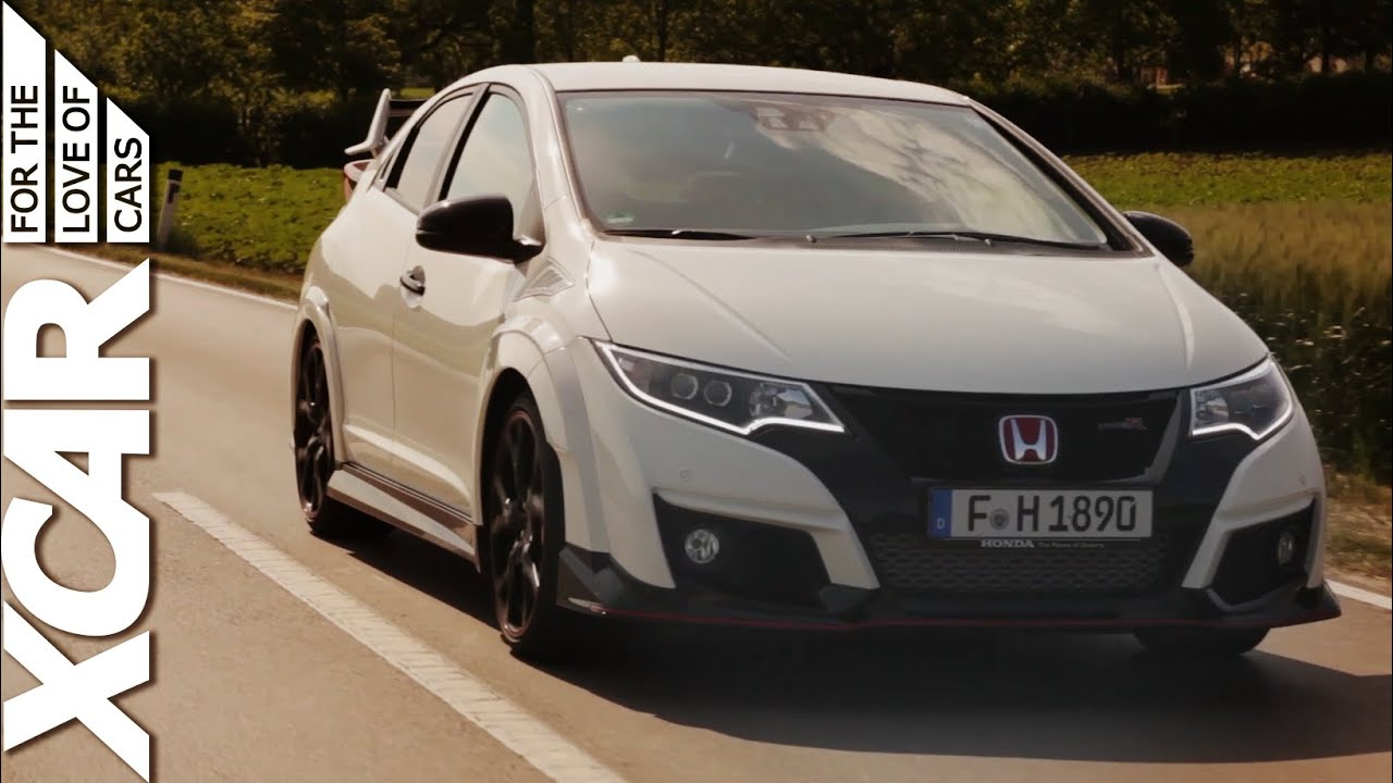 2016 honda civic type r too much for the road carfection youtube. Black Bedroom Furniture Sets. Home Design Ideas
