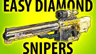 EASY DIAMOND CAMO SNIPERS - BLACK OPS 3 TIPS @ItsMikeyGaming