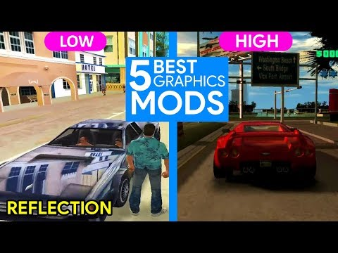 GTA VC TOP 5 BEST GRAPHICS ( LOW TO HIGH ) 2019