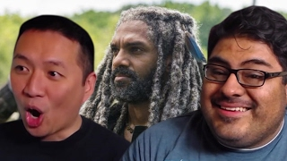 Repeat youtube video The Walking Dead 7x10 Reaction and Review