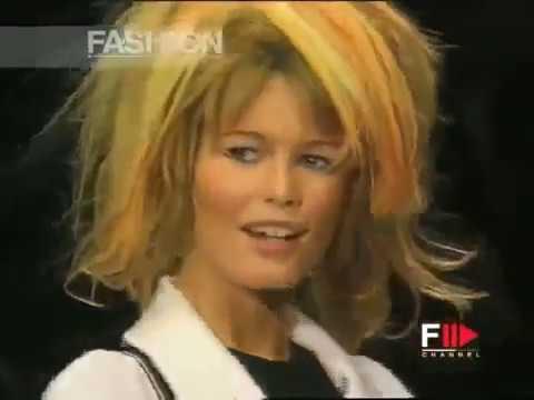 CLAUDIA SCHIFFER Portrait  Fashion Channel