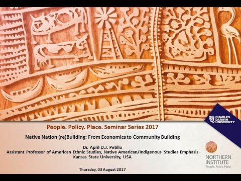 Native Nation (re)Building: From Economics to Community Building