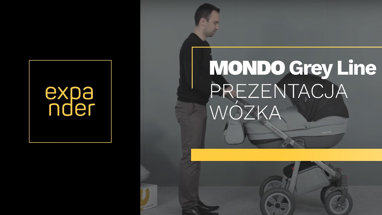 Expander mondo grey 3 в 1 купить