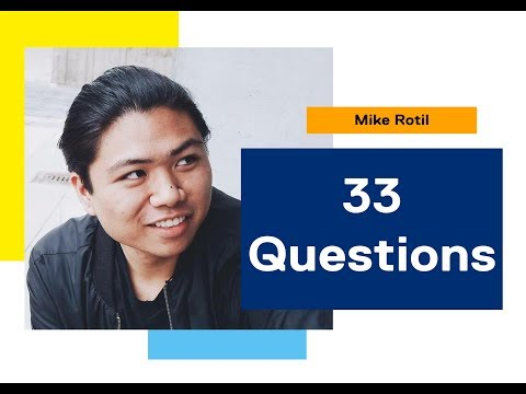 33 Questions: Mike, Graphic Communications Management