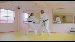 Hoshinsul #4 Opposite side wrist grab Joint-lock (For orange belt test)