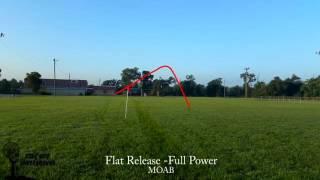 Hyzerbomb MOAB vs Innova Firebird vs Vibram Notch with Disc Tracking
