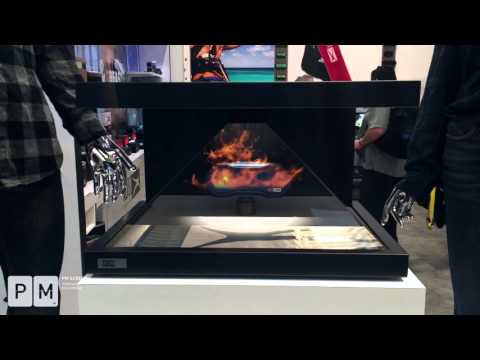 PM Screen - CES 2016 Highlights of Altec Lansing 3D Hologram Projection  ( Official HD)