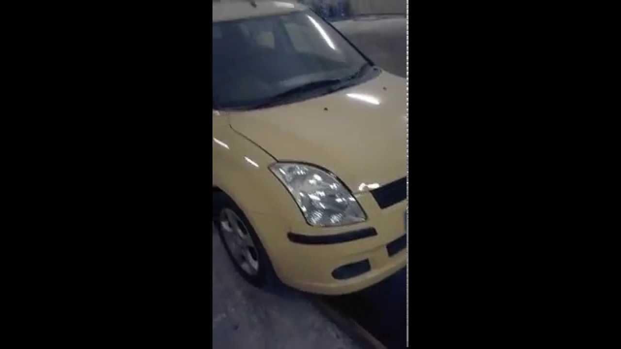 Suzuki Swift (Сузуки Свифт) установка подогрева №1