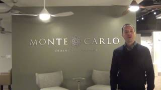 New Ceiling Fans for 2016 from Monte Carlo